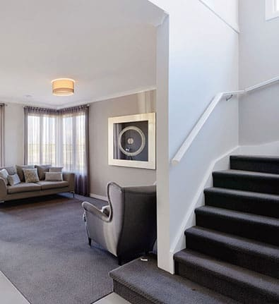Burleigh Formal Lounge Stairs Entry