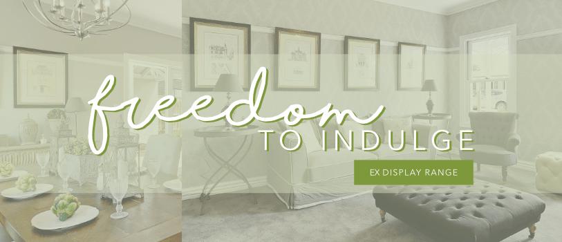 Freedom To Indulge Promotion Heading Ex