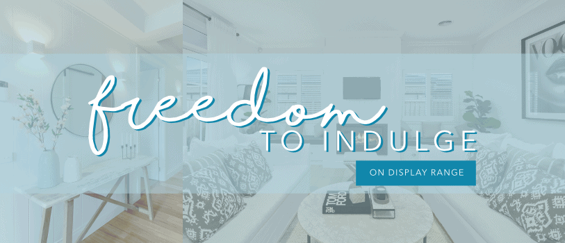 Freedom To Indulge Promotion Heading On